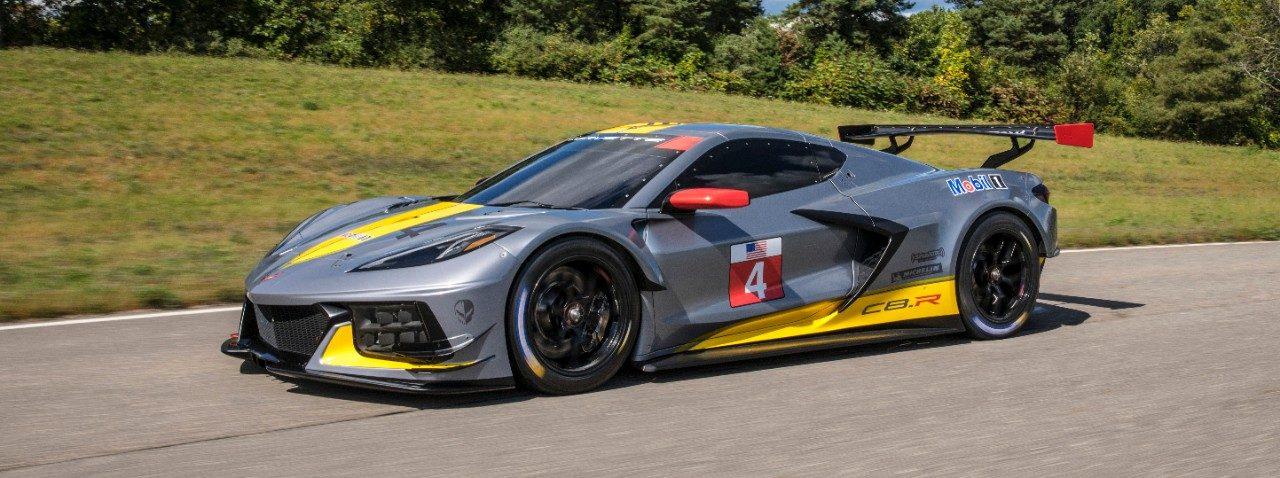 Corvette Racing C8.R Official Team Cap Black//Red