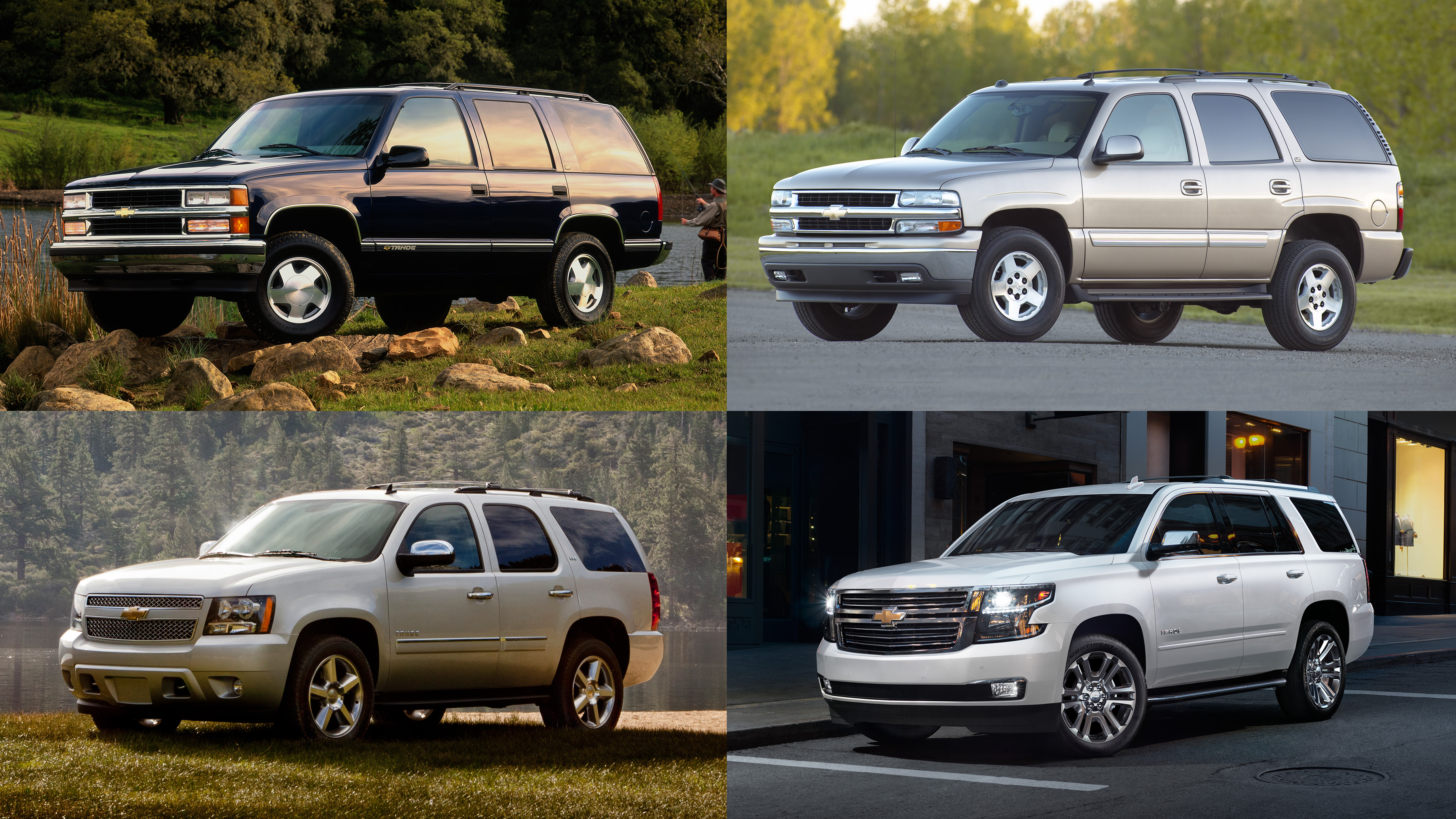 Chevrolet Tahoe Turns 25 Best Selling Full Size Suv In The U S Thanks To Capability And Cachet